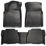 Husky Liners Front & 2nd Seat Floor Liners Fits 07-11 Tundra CrewMax/Double Cab