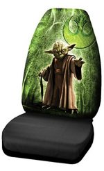 Plasticolor 006945R01 Star Wars Yoda High Back Seat Cover