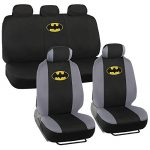 Original Batman Seat Covers for Car SUV – Universal Fit Auto Accessories, Warner Brothers