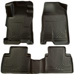 Husky Liners Front & 2nd Seat Floor Liners Fits 07-12 Altima 4 Door